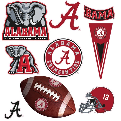 Alabama crimson tide for Alabama football mural