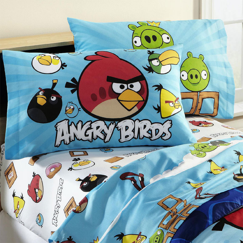 birds bedding angry birds sheets sets 005 angry birds bedding pictures