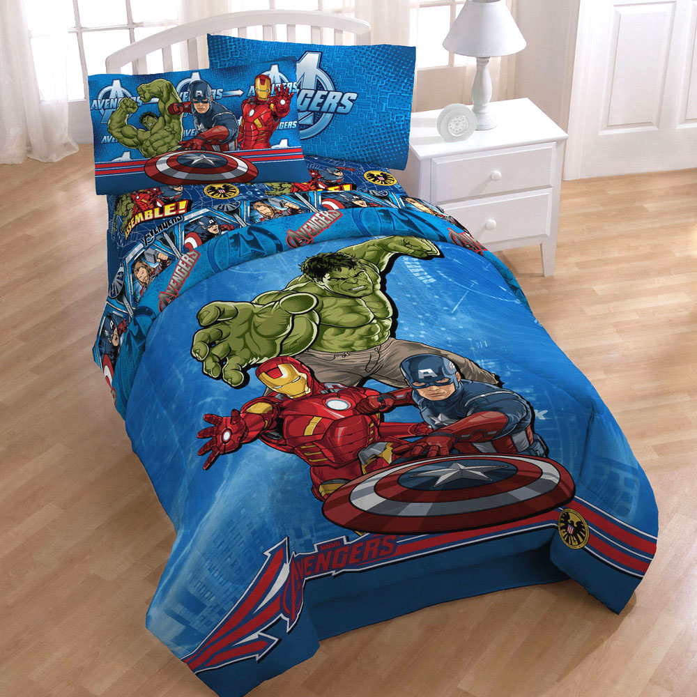 Marvel Bedding And Curtains Beds and Bedding