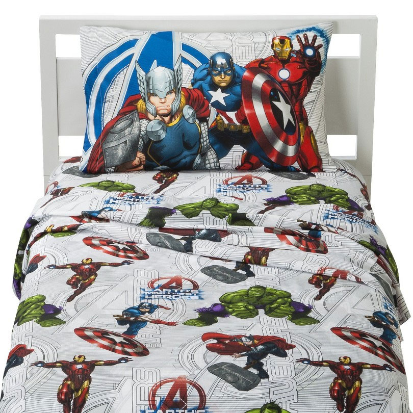 Category home family bed bath product marvel avengers full bed