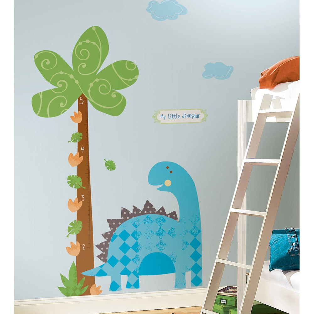 Babysaurus Growth Chart Wall Decal
