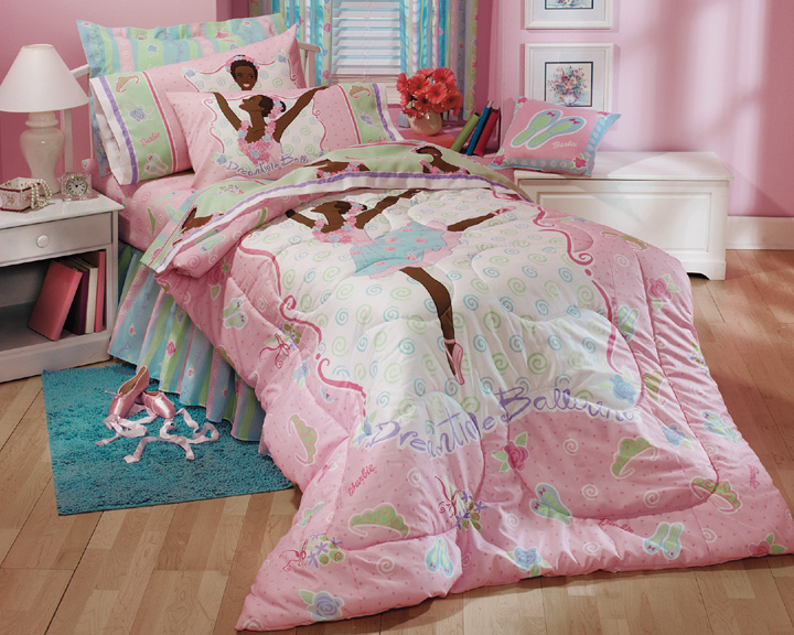 Barbie Ethnic Dreamtime Ballerina Full Ruffle Bed Skirt