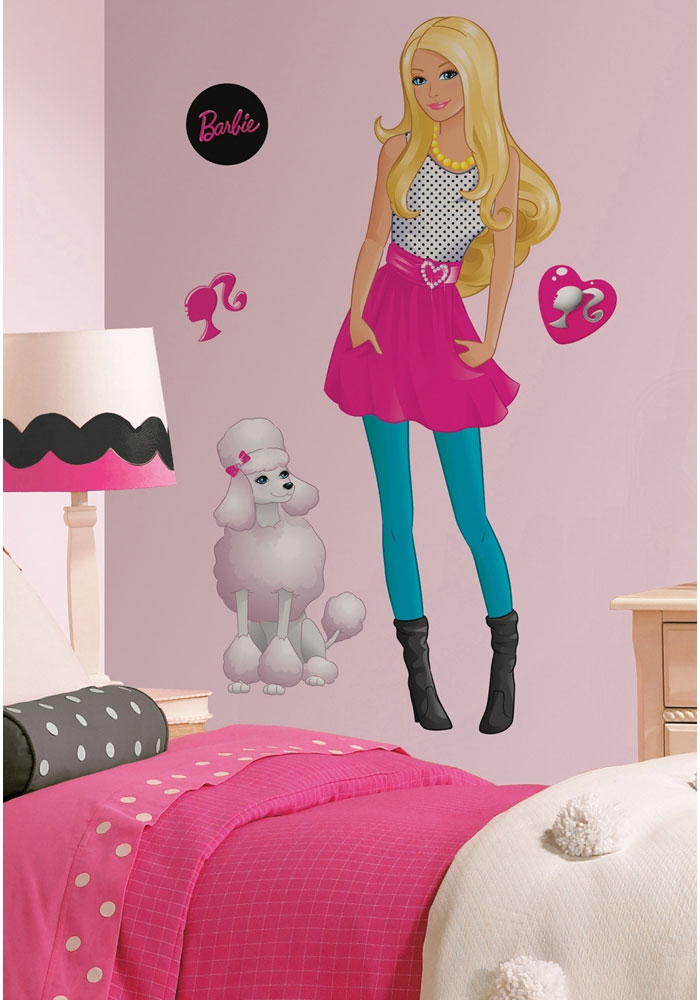 Barbie & Poodle Wall Accent Set