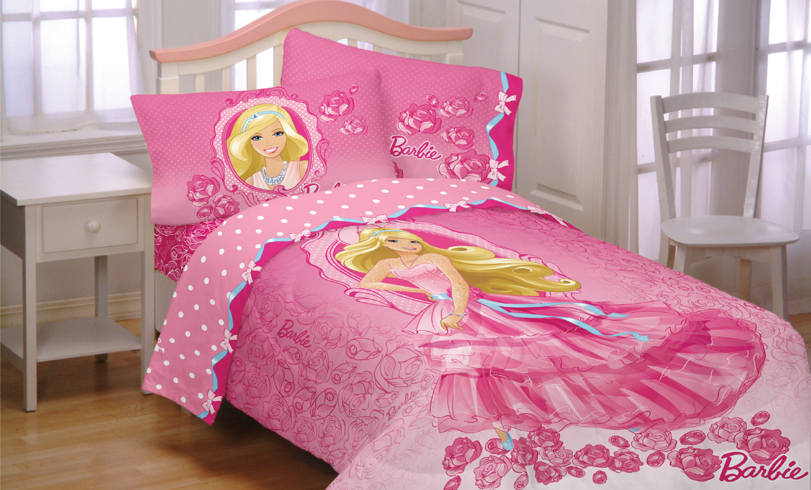 Barbie Twin Bedding