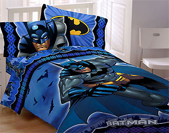 Batman Bedding Set Dc Comics 5pc Comforter Sheet Set