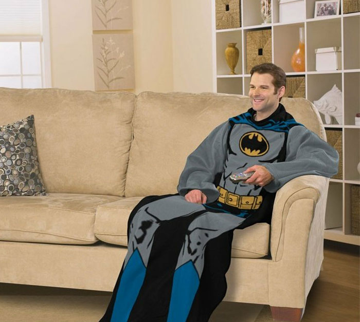 DC Comic Batman Comfy Throw