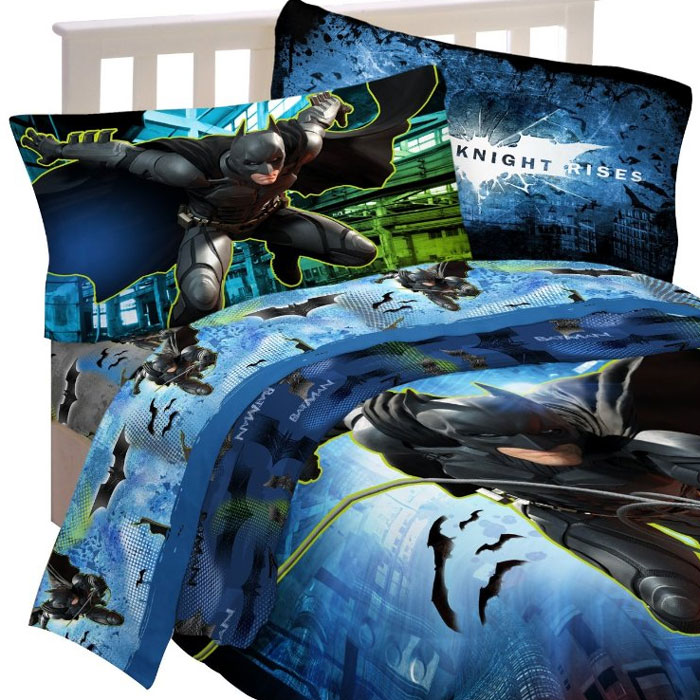 Pc BATMAN TWIN BEDDING SET DC Comics Super Hero Dark Knight - Batman dark knight bedding