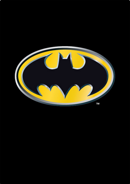 DC Comics Batman Emblem Large Area Rug