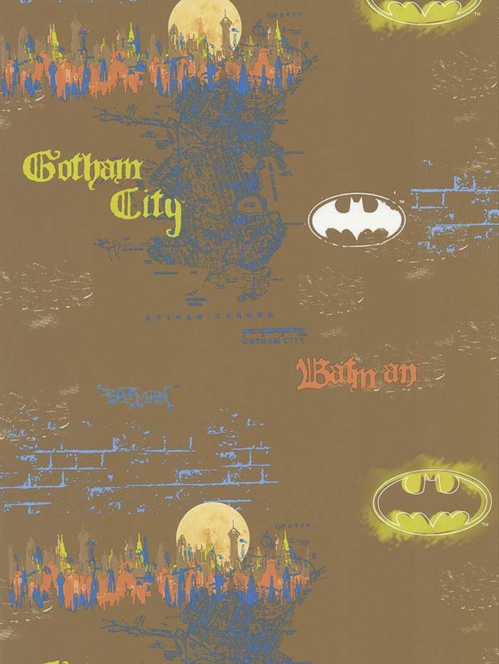 DC Comics Urban Batman Wallpaper