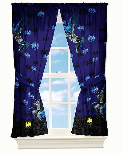 Batman Curtains Design and Care