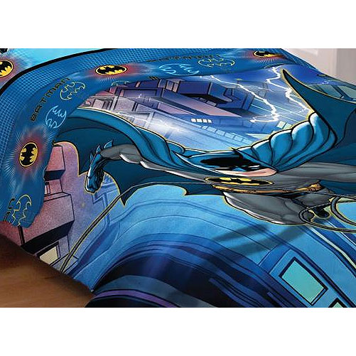 DC Comics Batman Lightning Night DC Comics Twin-Full Bed Comforter at Sears.com