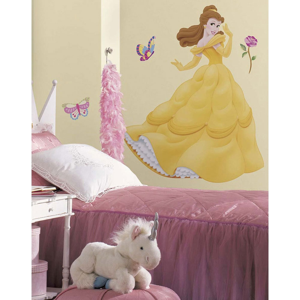 Belle Giant Peel and Stick Wall Decal