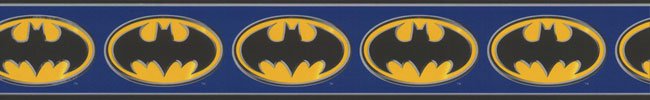 Batman Logo Wall Border Roll