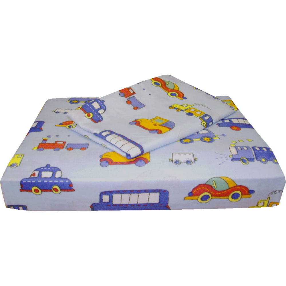 store51 Transportation Cars Trucks Bedding Twin Bed Sheet Set at Sears.com
