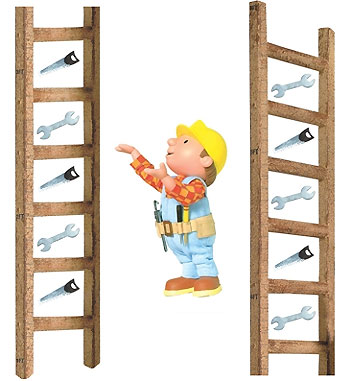 Bob the Builder Stick-up Growth Chart