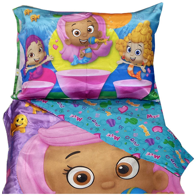 Bubble guppies toddler bedding set molly dance