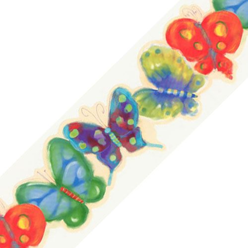 surestrip Jelly Butterfly Bugs Prepasted Wallpaper Border Roll at Sears.com