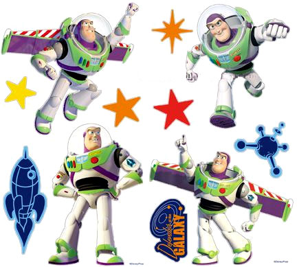 toy story buzz lightyear 23 wall stickers accents rmk1431gm toy story buzz lightyear giant wall stickers
