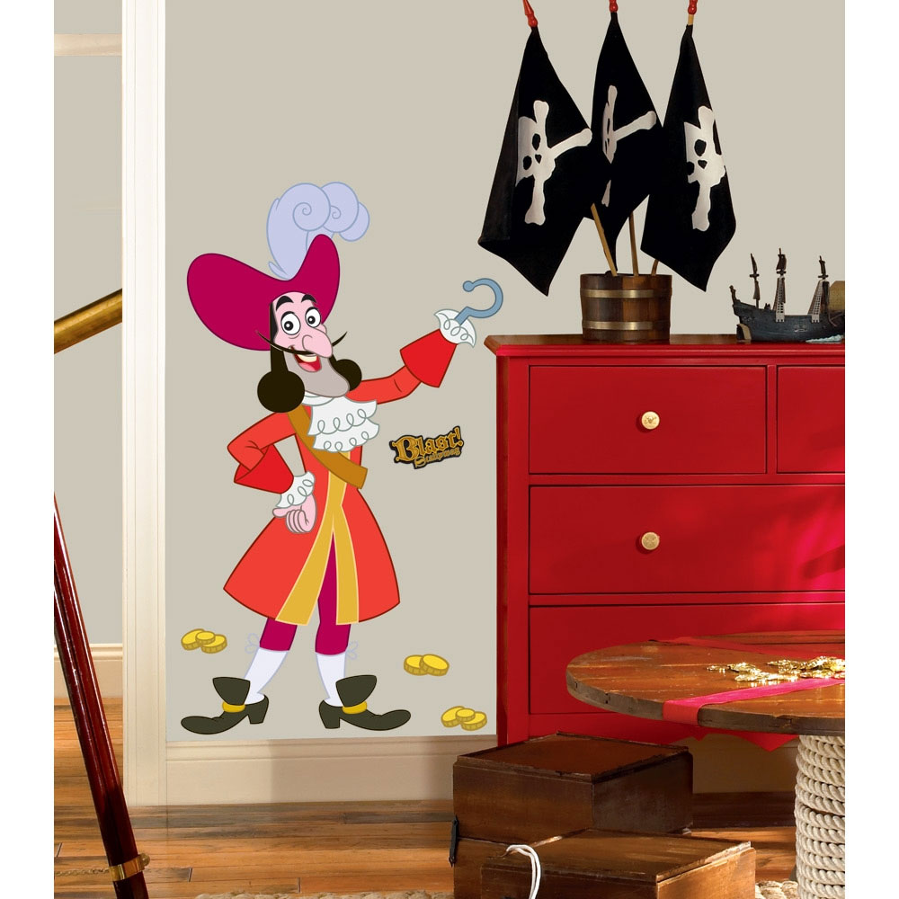 Disney Captain Hook Wall Sticker Set