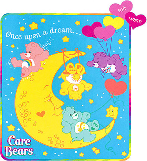 Care Bears Once Upon a Dream - FLEECE BLANKET - Nursery Room Decor