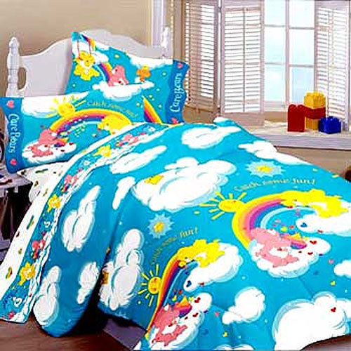 Care Bears Catch Some Fun - BED IN A BAG - Kids Twin Size