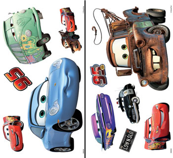 Disney Cars Wall Decals Part 97