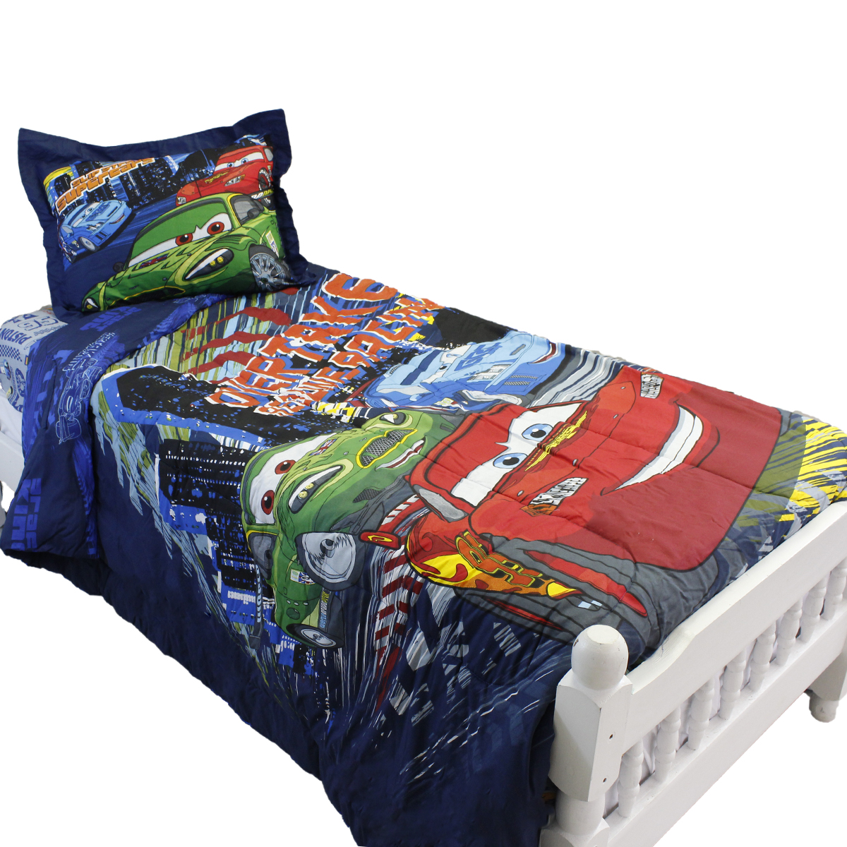 4pc Disney Cars Full Comforter Set