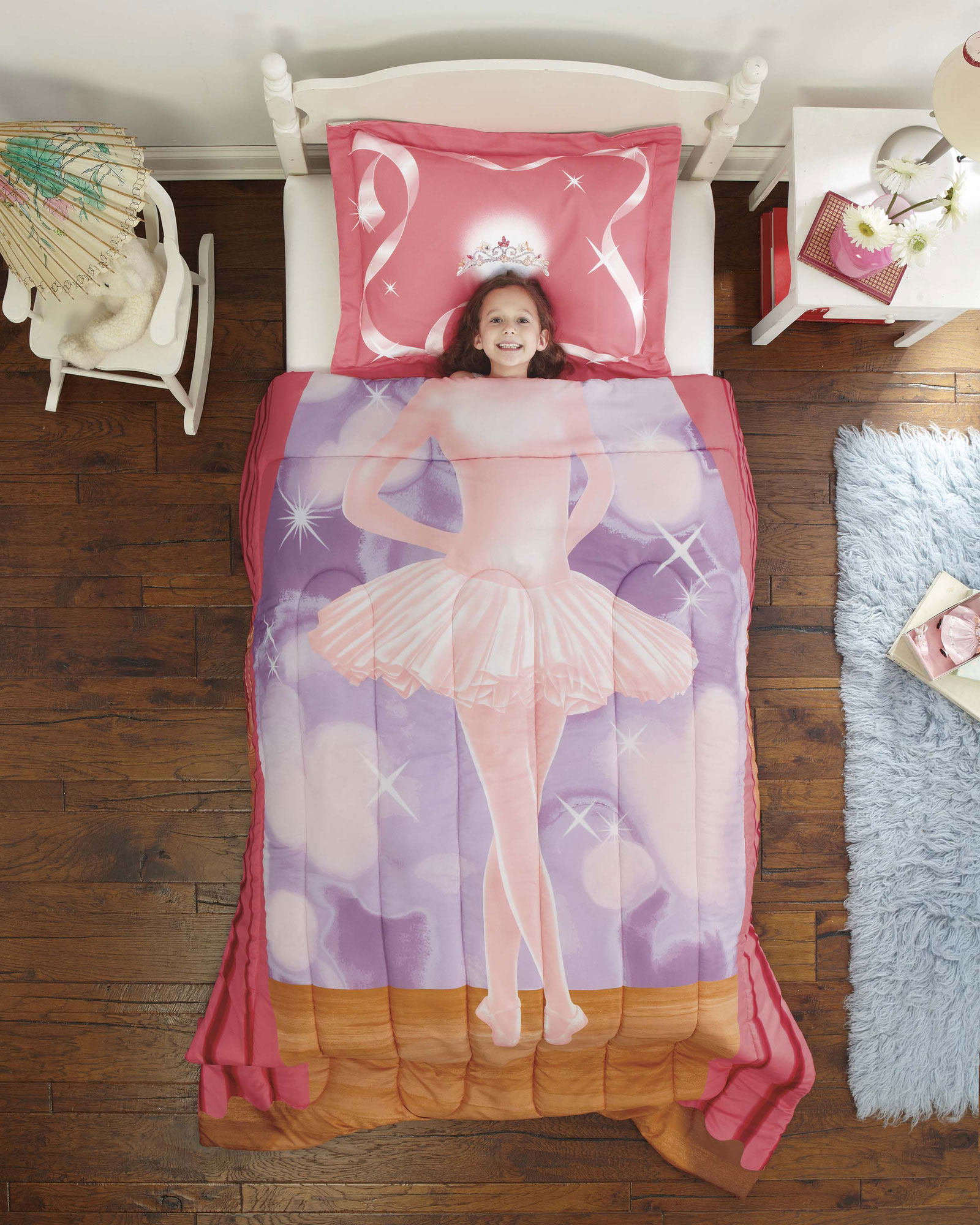 Ballet Dancer Twin Comforter Set