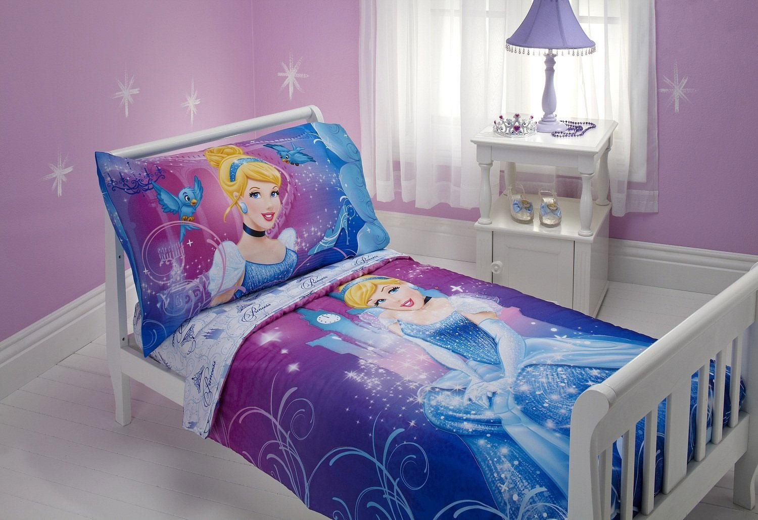 Disney Cinderella 4pc Toddler Bedding Set
