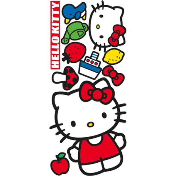 Hello Kitty Wall Accent Set