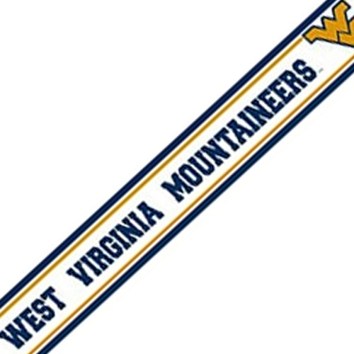 NCAA West Virginia Moutaineers Prepasted Wallpaper Border at Sears.com