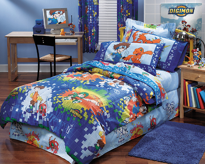 Digimon - Bedding Set - Toddler Size