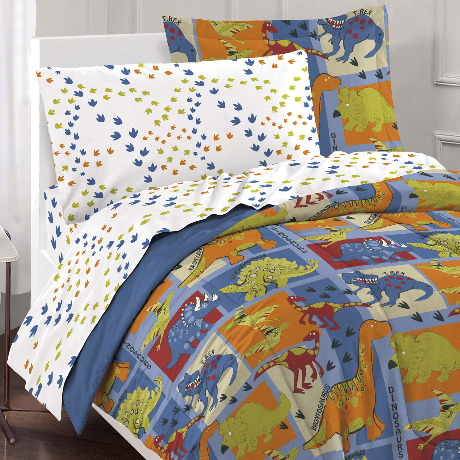 Dinosaurs Full Bedding Set