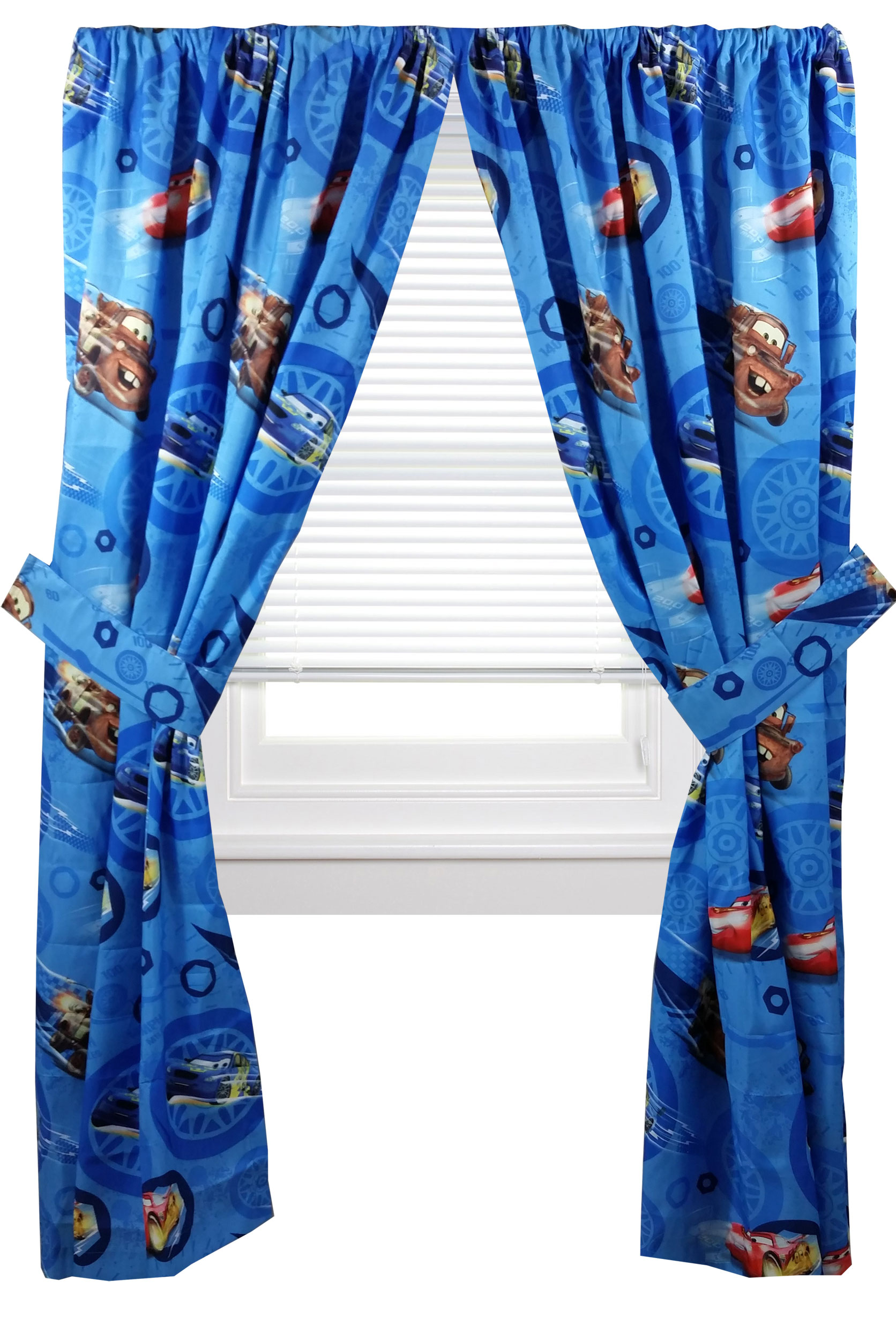 Disney Cars Window Curtains