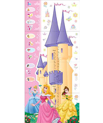 Disney Princess Growth Chart 59 Wall Stickers And Growth