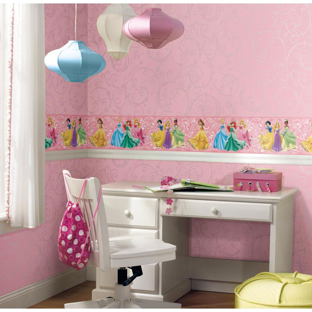 Disney Princesses Prepasted Wall Border