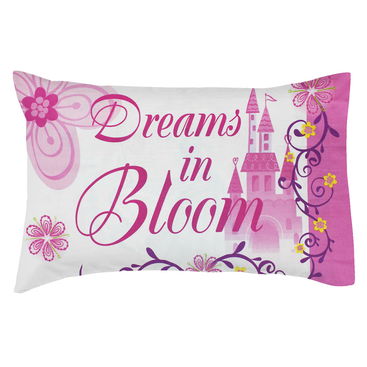 2pc Princess Castle Pillowcases Set