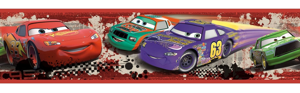 Disney Cars Racing Border