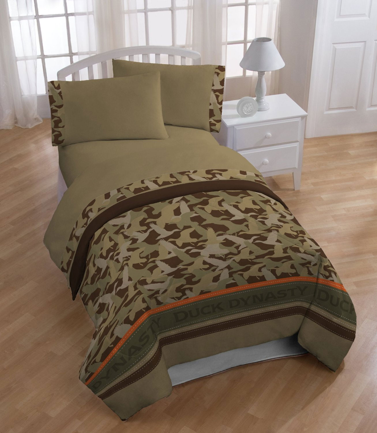 twin comforter duck dynasty camouflage stripe bedding one duck dynasty