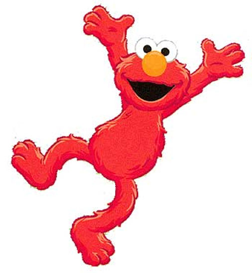 Sesame Street Wall Decor - Elmo Mural Accent - Time To Learn