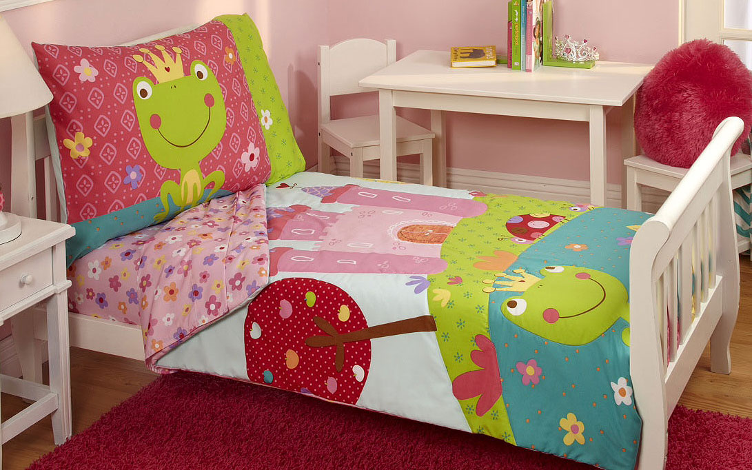Fairytale Princess Toddler Bedding Set