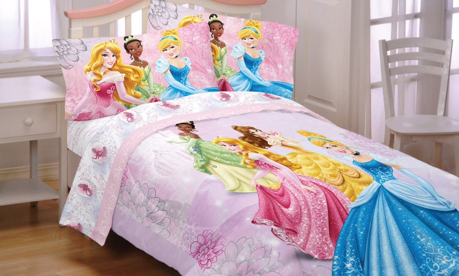 Disney Princesses Reversible Full Bed Comforter