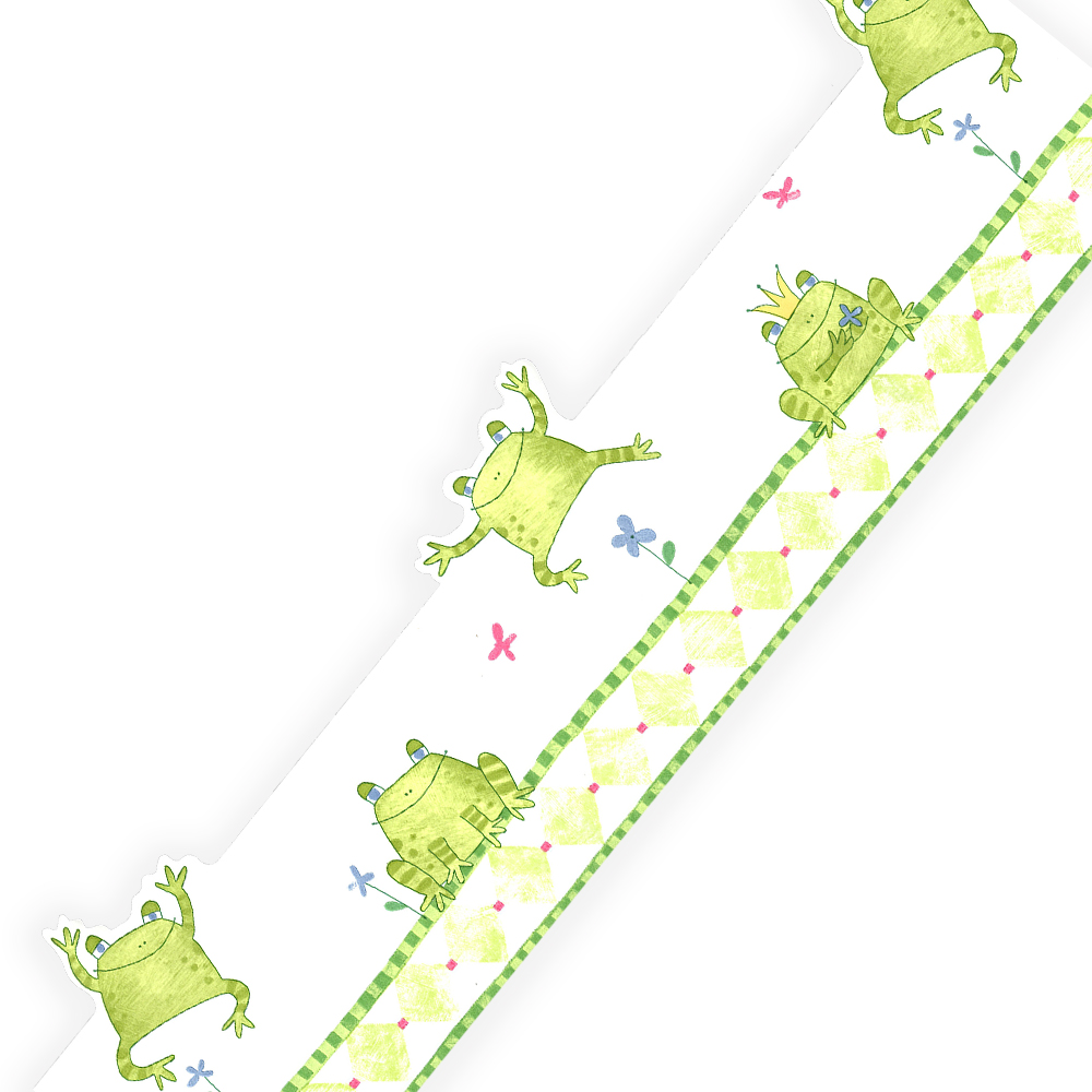 Sure Strip Frog King Prepasted Accent Wallpaper Border Roll at Sears.com