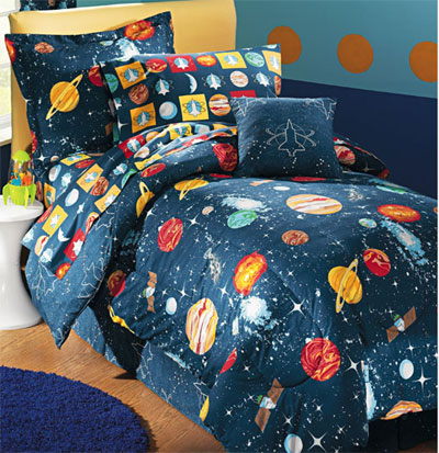 planet and moons comforter - photo #1