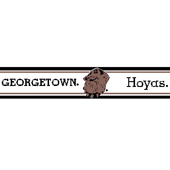 Wallpaper Borders on Georgetown University Hoyas   Wallpaper Border