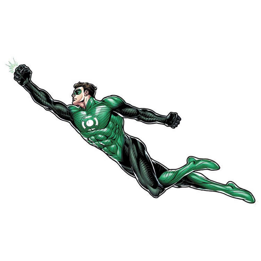 green lantern dc comics large wall accent sticker