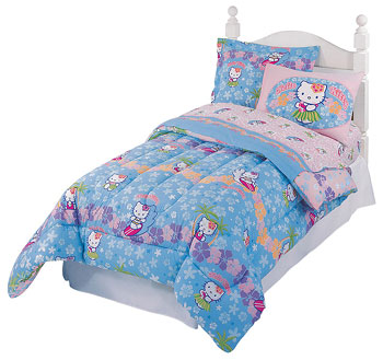 Hello Kitty - Surf - 9pc Bedroom Set - Full-Double Bed