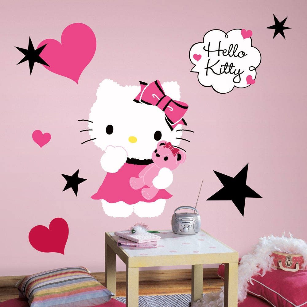 Hello Kitty Couture Large Self-Stick Wall Accent