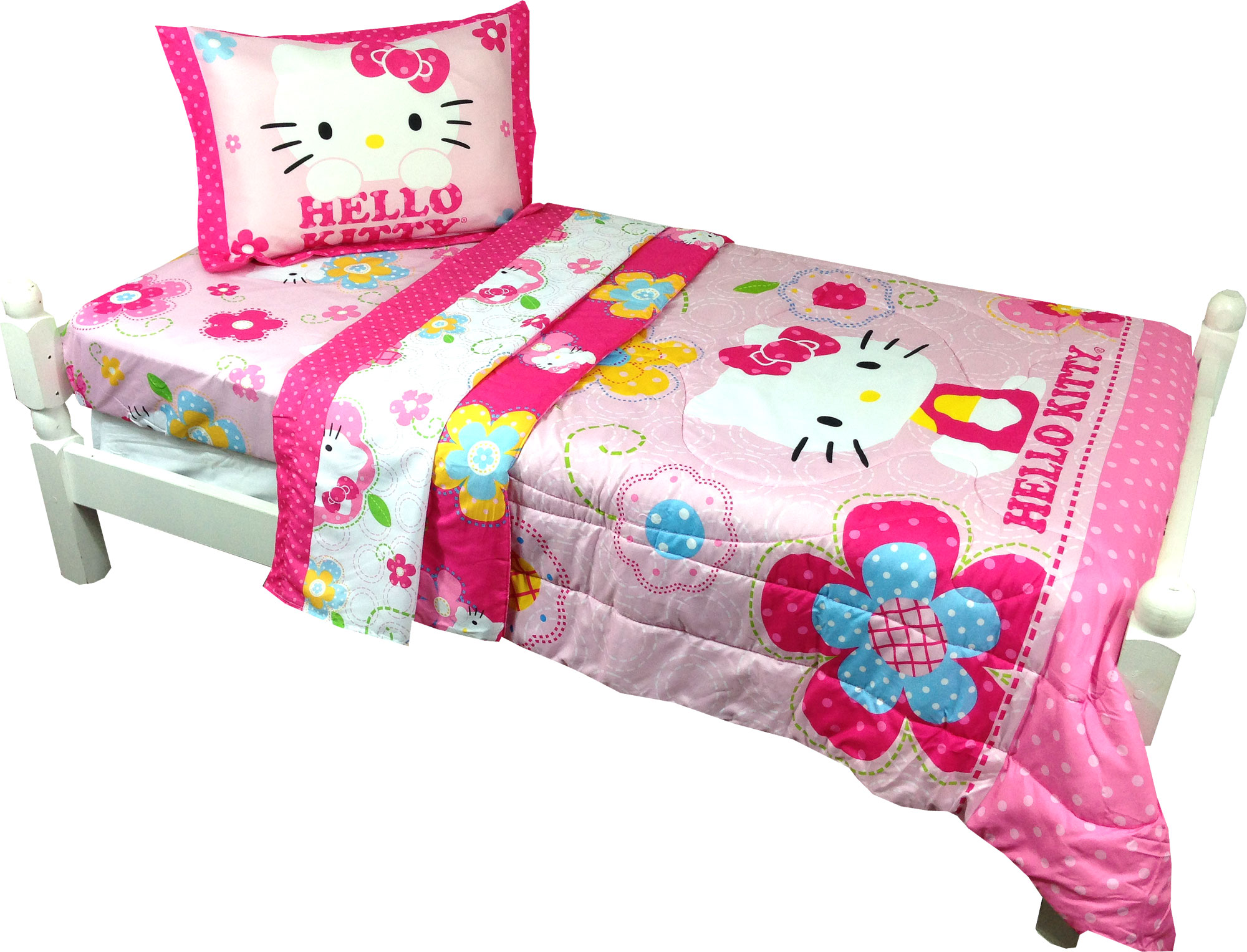Sanrio Hello Kitty Twin Comforter Sham Set