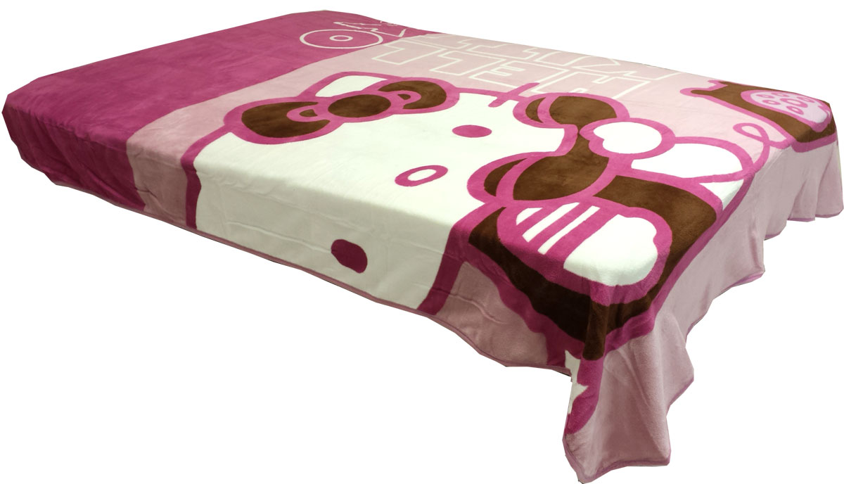 Sanrio Hello Kitty Twin Plush Blanket